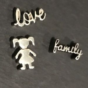 Origami Owl Charms (set of 3)